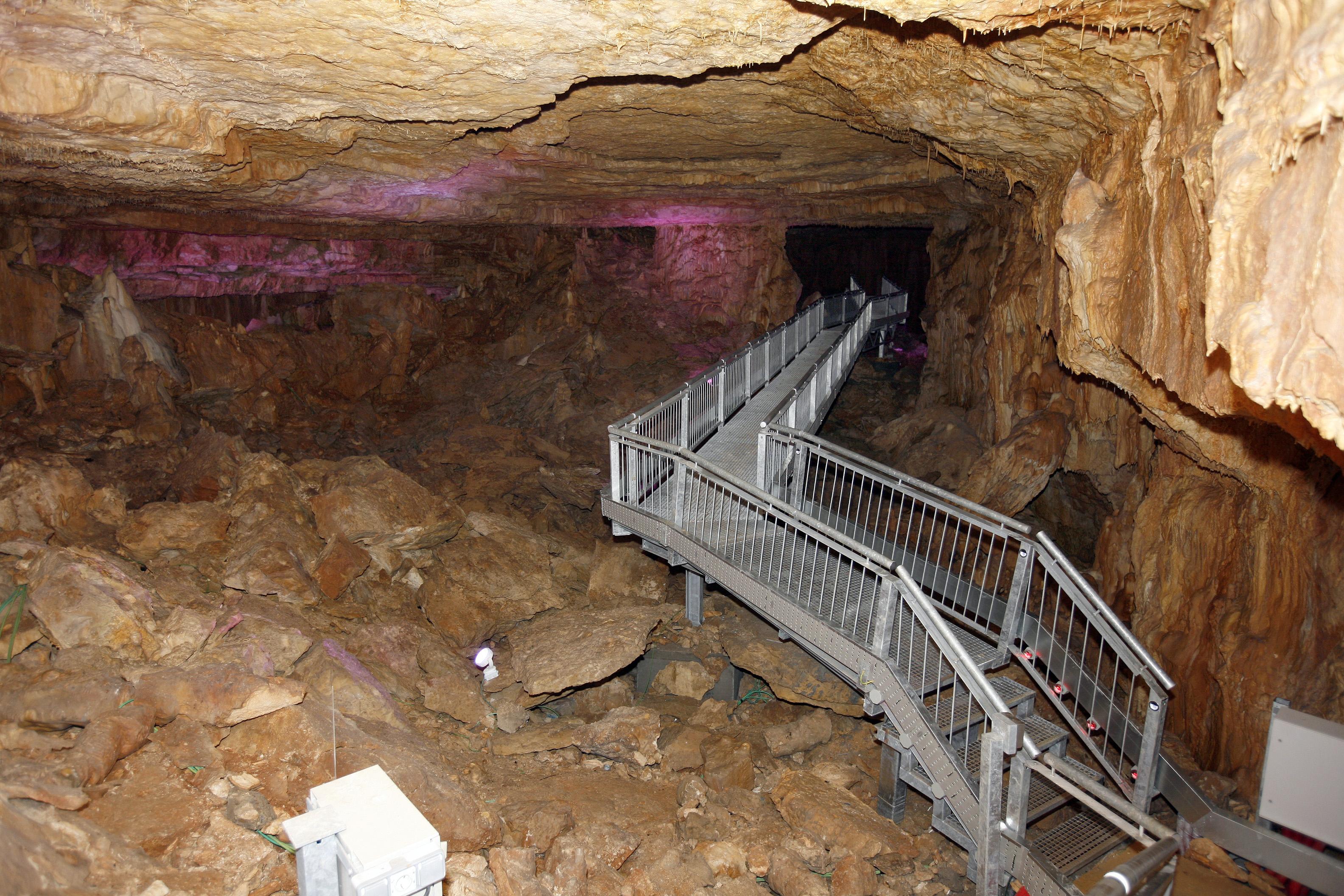 Inauguración Cueva de los Franceses